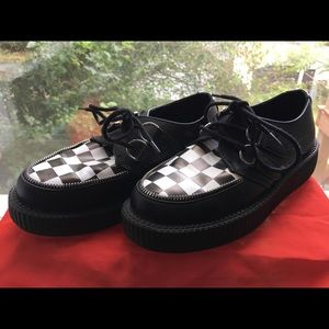 Tuk Creepers Checkerboard Zipper